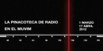 """Banner exposición colectiva """"La Pinacoteca de radio en el MUVIM"""""""