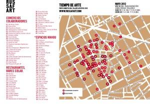 Mapa espacios colaboradores